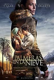 Adriana Ugarte, Mario Casas, and Berta Vázquez in Palmeras en la nieve (2015)
