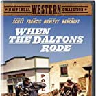 Broderick Crawford and Brian Donlevy in When the Daltons Rode (1940)