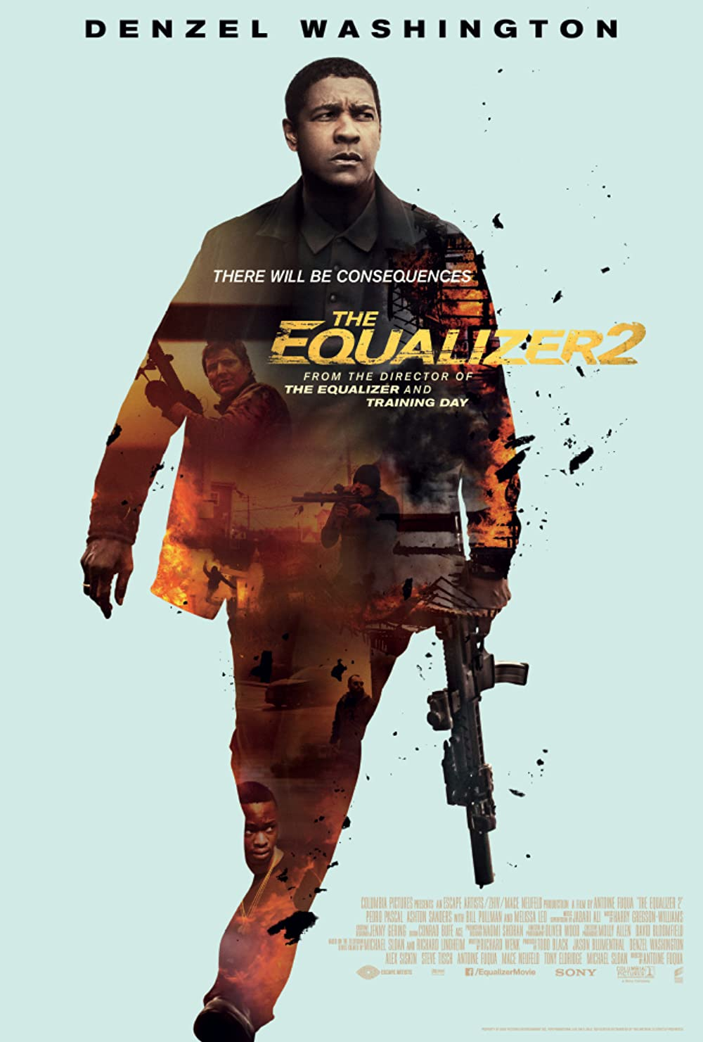 The Equalizer 2 2018 Hindi Dual Audio 430MB BluRay ESubs Download