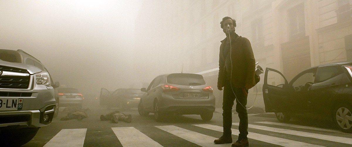 Romain Duris in Dans la brume (2018)