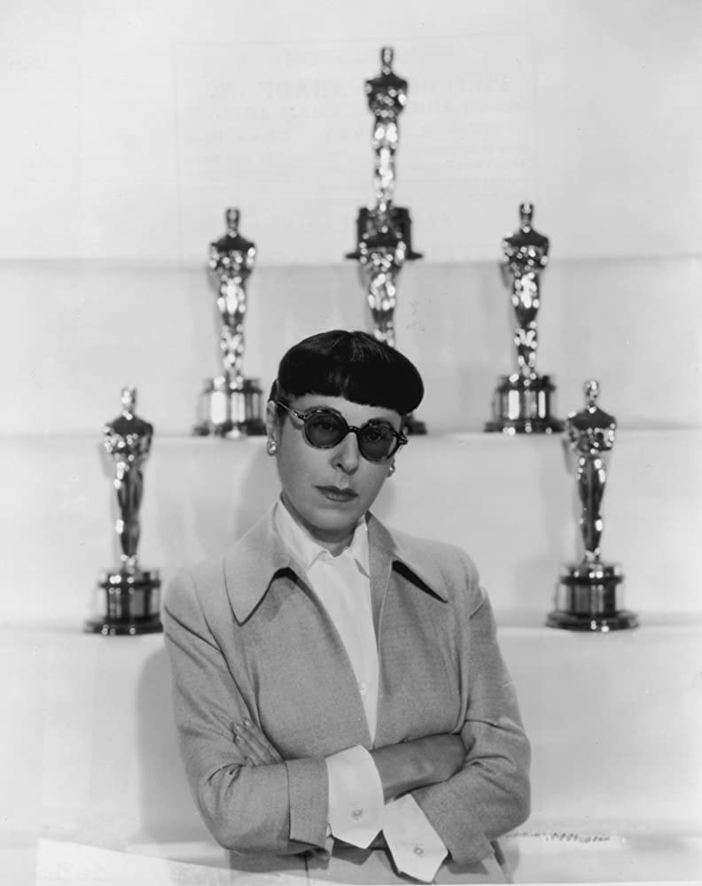 Edith Head at an event for The 27th Annual Academy Awards 1955