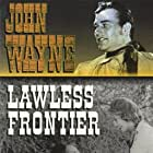 John Wayne, George 'Gabby' Hayes, and Sheila Terry in The Lawless Frontier (1934)