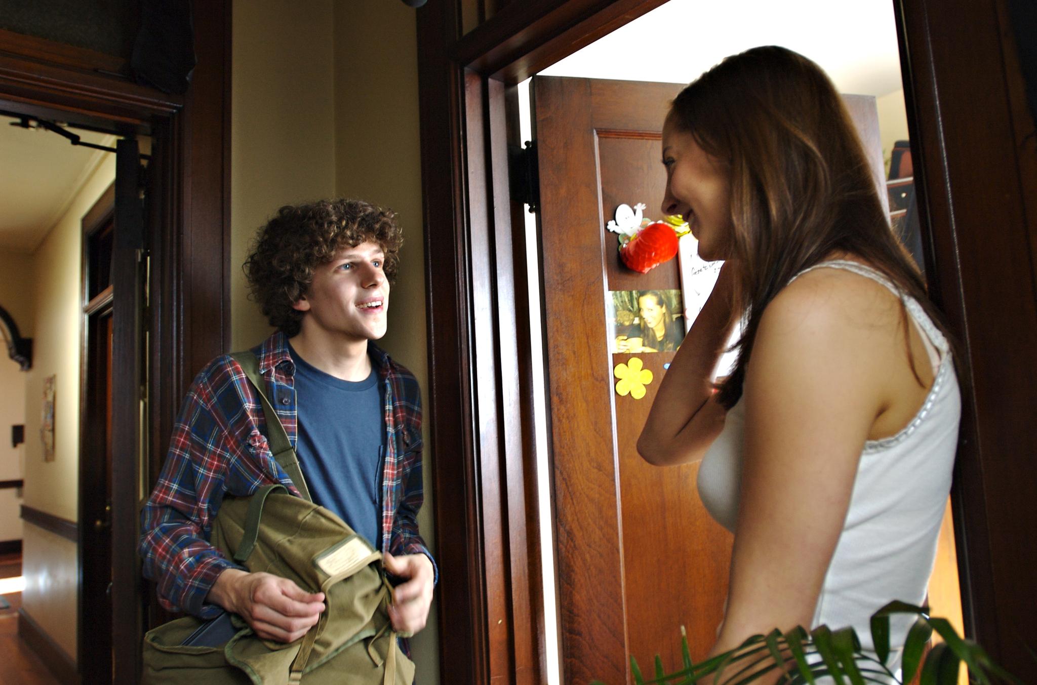 Eva Amurri and Jesse Eisenberg in The Education of Charlie Banks (2007)