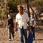 Matthew McConaughey, Tye Sheridan, and Jacob Lofland in Mud (2012)