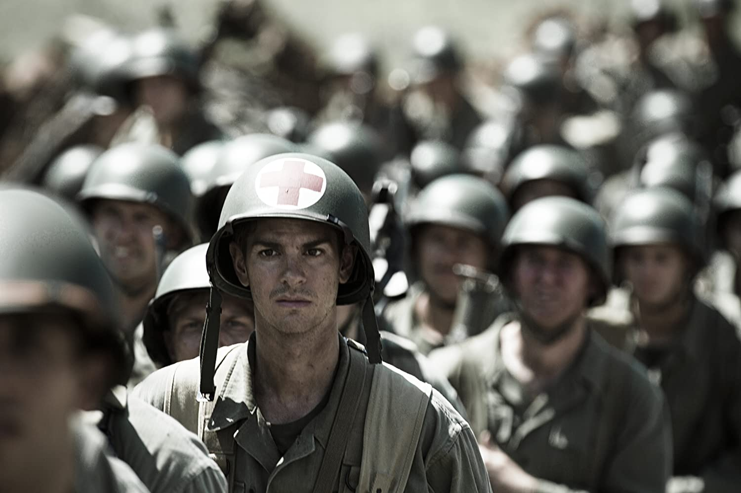 Andrew Garfield in Hacksaw Ridge (2016)