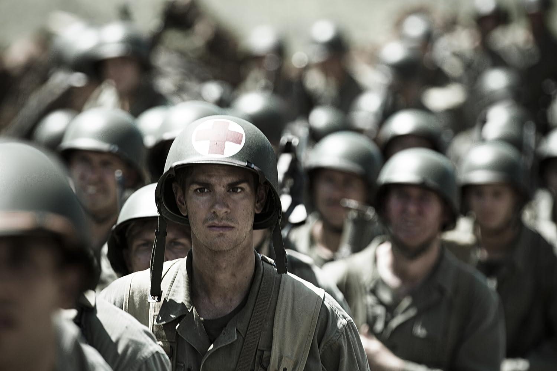 Andrew Garfield in Hacksaw Ridge (2016)