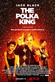 Jason Schwartzman, Jack Black, and Jenny Slate in The Polka King (2017)