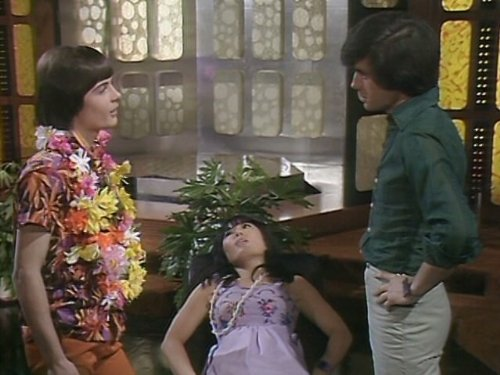 Mike Holoway, Misako Koba, and Nicholas Young in The Tomorrow People (1973)