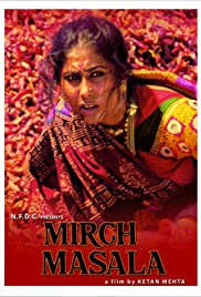 Mirch Masala (1987) Poster - Movie Forum, Cast, Reviews