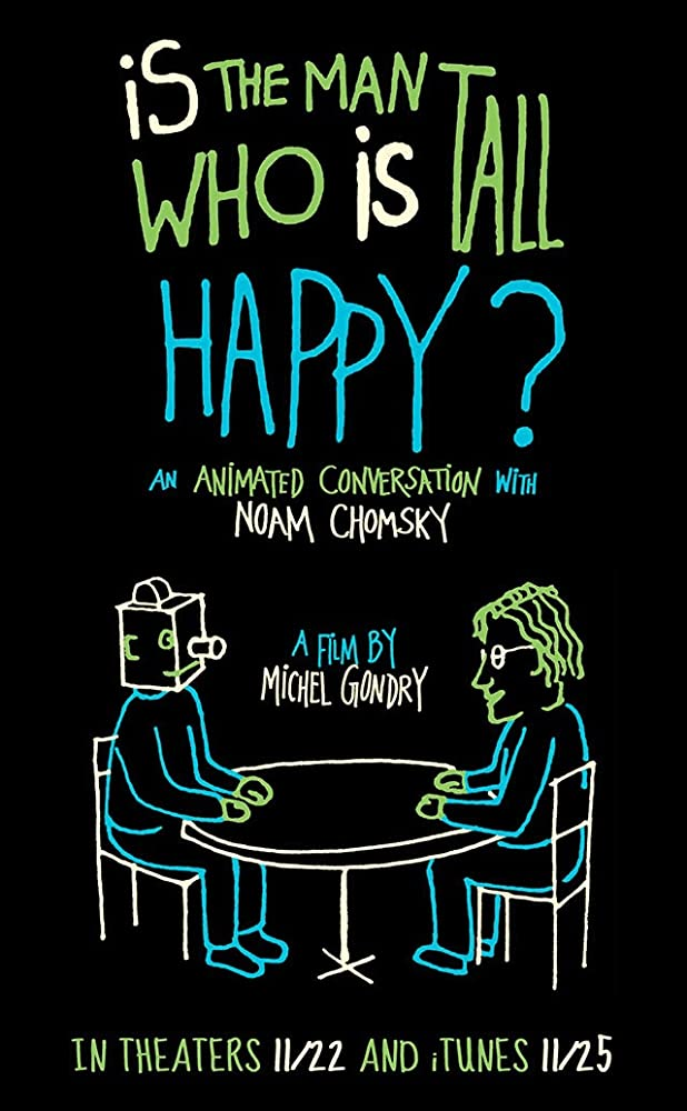 Is the Man Who Is Tall Happy?: An Animated Conversation with Noam Chomsky (2013)