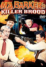 Ma Barker's Killer Brood (1960) Poster - Movie Forum, Cast, Reviews