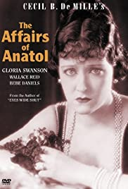 The Affairs of Anatol Poster