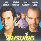 John Cusack, Billy Bob Thornton, Cate Blanchett, and Angelina Jolie in Pushing Tin (1999)