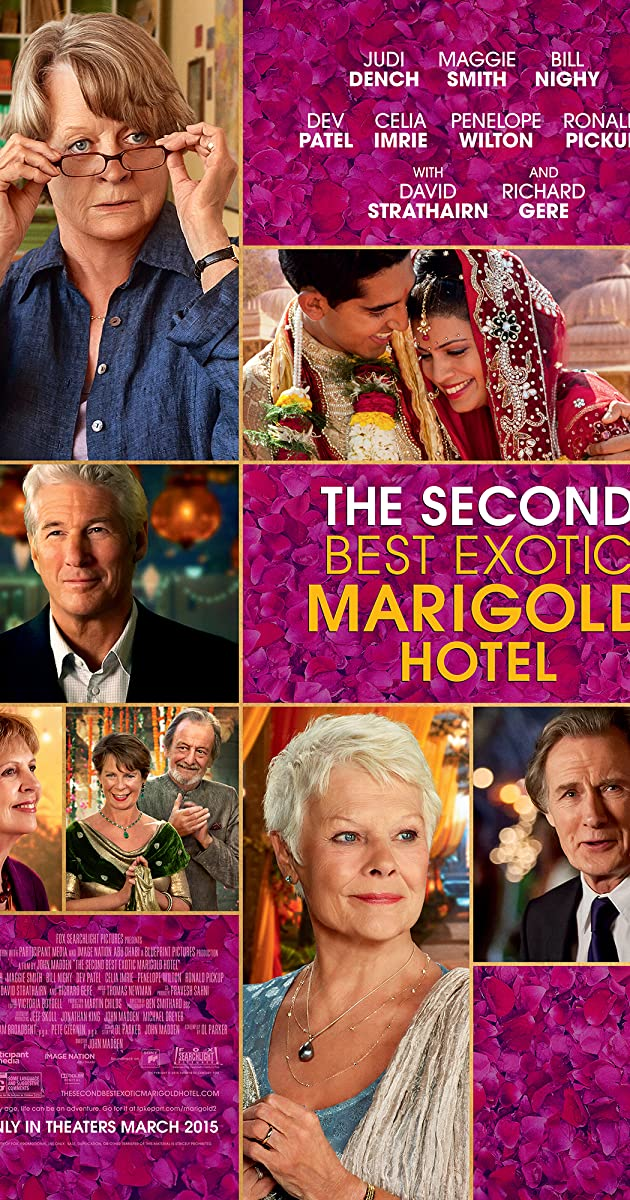 Subtitle of The Second Best Exotic Marigold Hotel