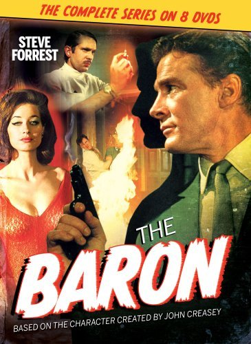 Steve Forrest and Valerie Leon in The Baron (1966)