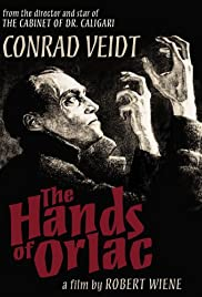 The Hands of Orlac Poster