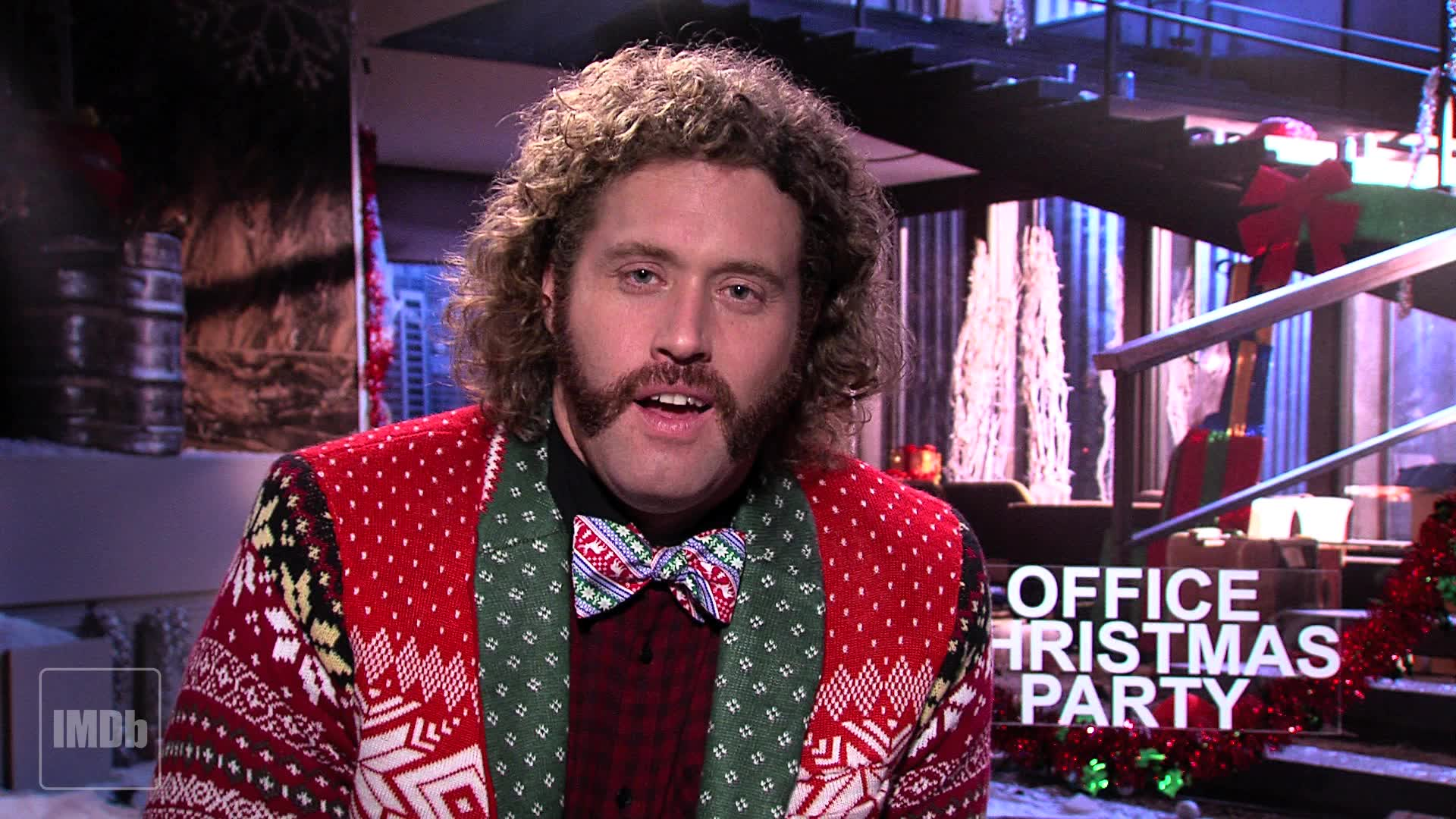 T.J. Introduces an Exclusive Clip From \'Office Christmas Party\' from ...