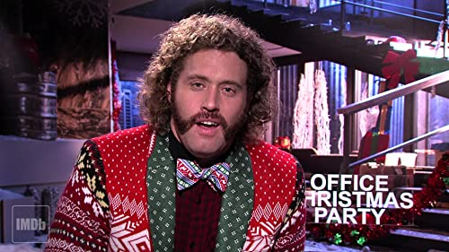 T.J. Introduces an Exclusive Clip From 'Office Christmas Party'