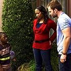 Seann William Scott, Bobb'e J. Thompson, and Nicole Randall Johnson in Role Models (2008)