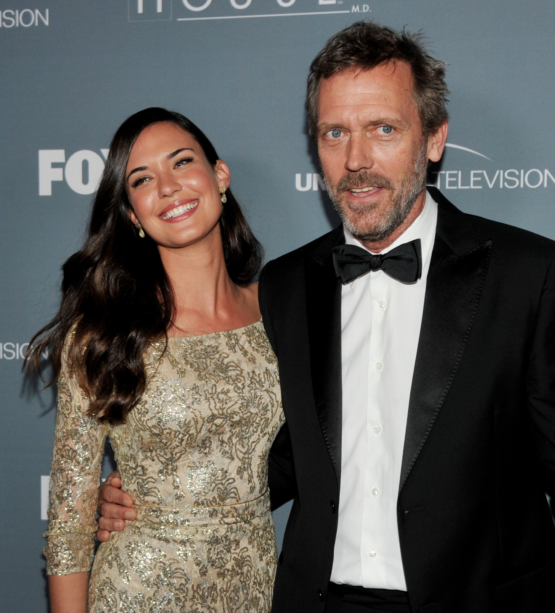 Hugh Laurie and Odette Annable at an event for House M.D. (2004)