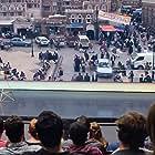 Tom Hanks, Jacob McAuliffe, Natalie Stephany Aguilar, Zameer Hassim, Morgan Cohen, Shandel Love, Steven Adkins, Dez Mabunga, Shaylin Broady, Lori Crow, and Reverend John Atom in The Circle (2017)