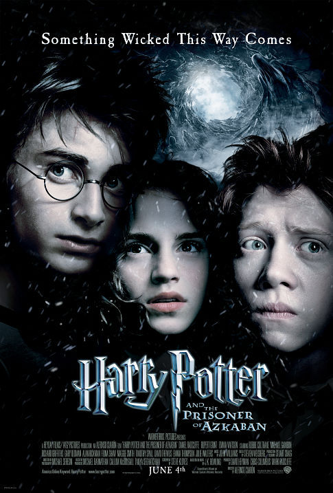 Rupert Grint, Daniel Radcliffe, and Emma Watson in Harry Potter and the Prisoner of Azkaban (2004)