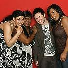 Melinda Doolittle, Jordin Sparks Thomas, LaKisha Jones, and Blake Lewis in American Idol: The Search for a Superstar (2002)