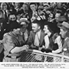 William Bendix, Sam Levene, and Claire Trevor in The Babe Ruth Story (1948)