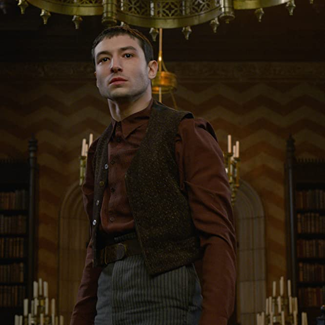 Ezra Miller in Fantastic Beasts: The Crimes of Grindelwald (2018)