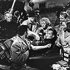 Charlton Heston, James Stewart, Gloria Grahame, Betty Hutton, Lane Chandler, and Cornel Wilde in The Greatest Show on Earth (1952)