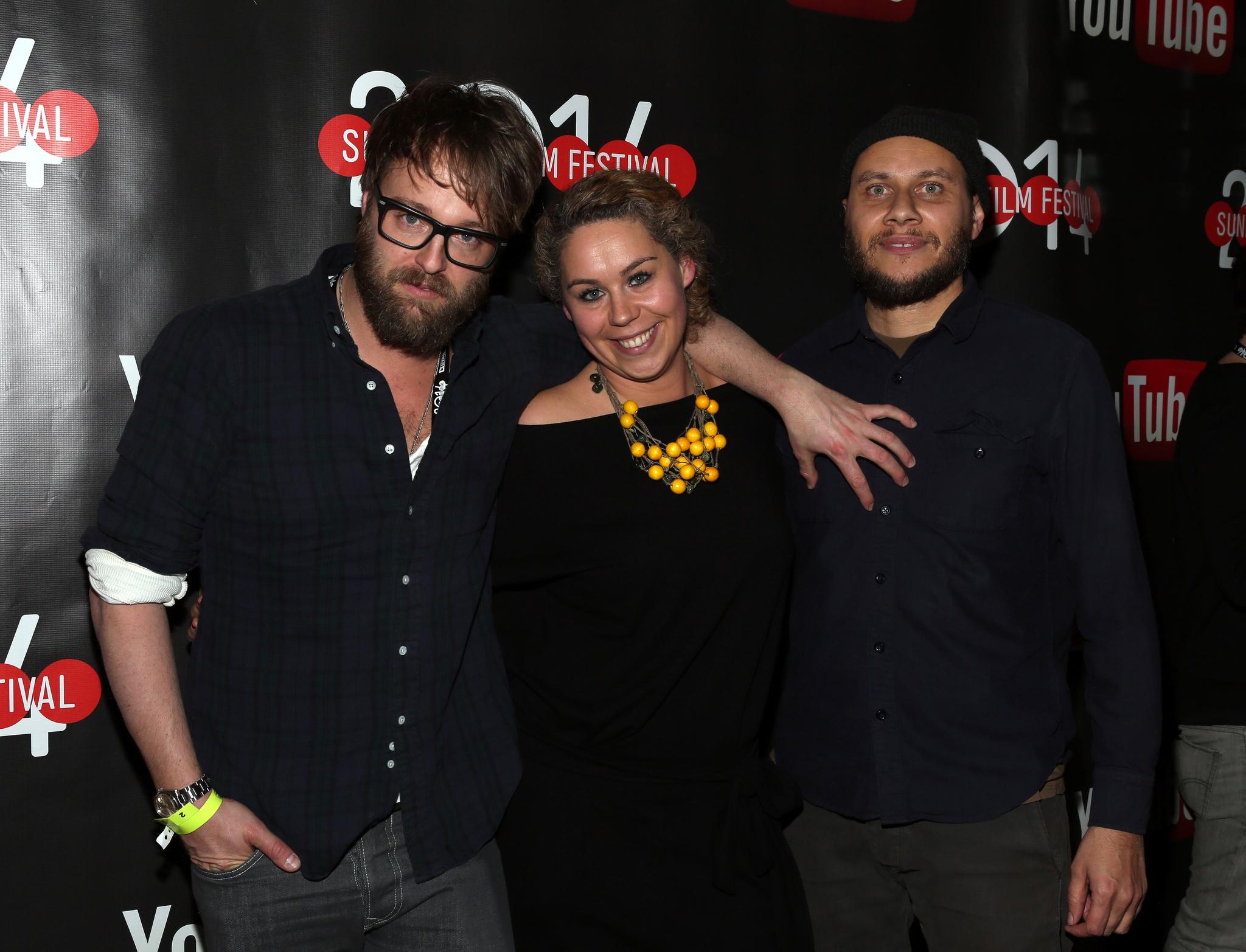 Vernon Chatman, Joshua Leonard, and Ania Trzebiatowska