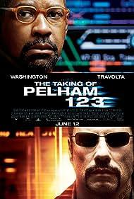 John Travolta and Denzel Washington in The Taking of Pelham 123 (2009)
