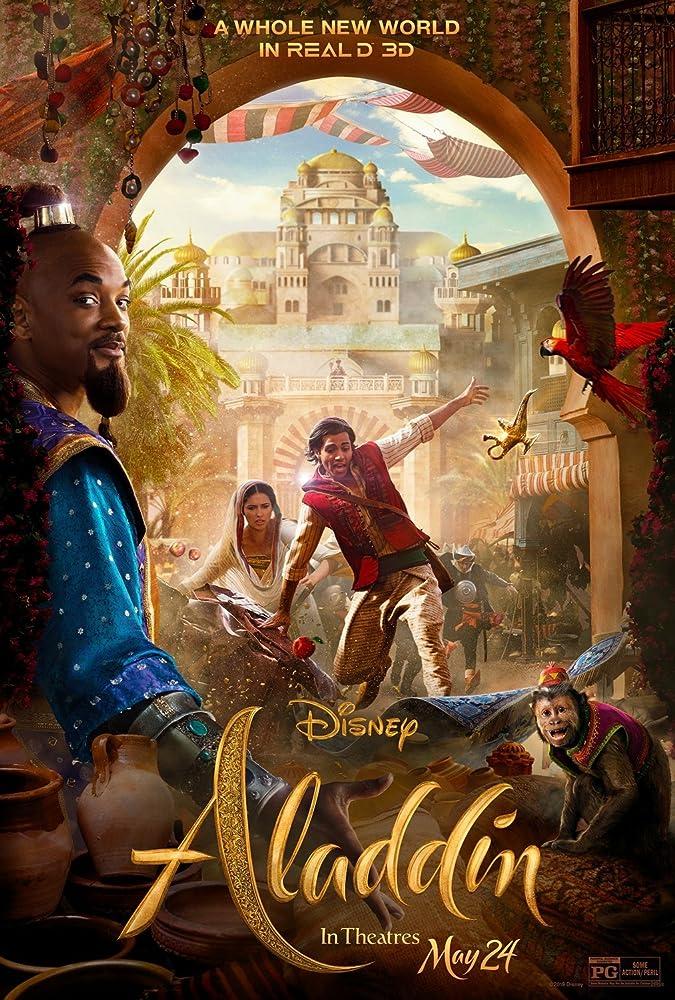 """Рецензия на фильм """"Аладдин"""" (Aladdin) 2019"""