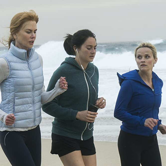 Nicole Kidman, Reese Witherspoon, and Shailene Woodley in Big Little Lies (2017)