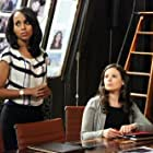 Kerry Washington and Katie Lowes in Scandal (2012)