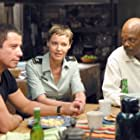 Samuel L. Jackson, John Travolta, and Connie Nielsen in Basic (2003)