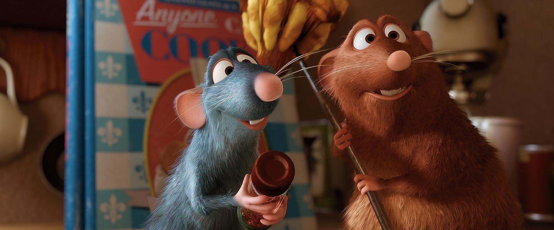 Patton Oswalt and Peter Sohn in Ratatouille (2007)