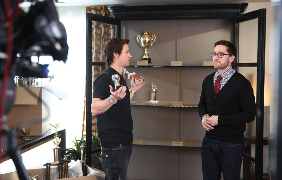 Mark Wahlberg and Josh Horowitz in 2014 MTV Movie Awards (2014)