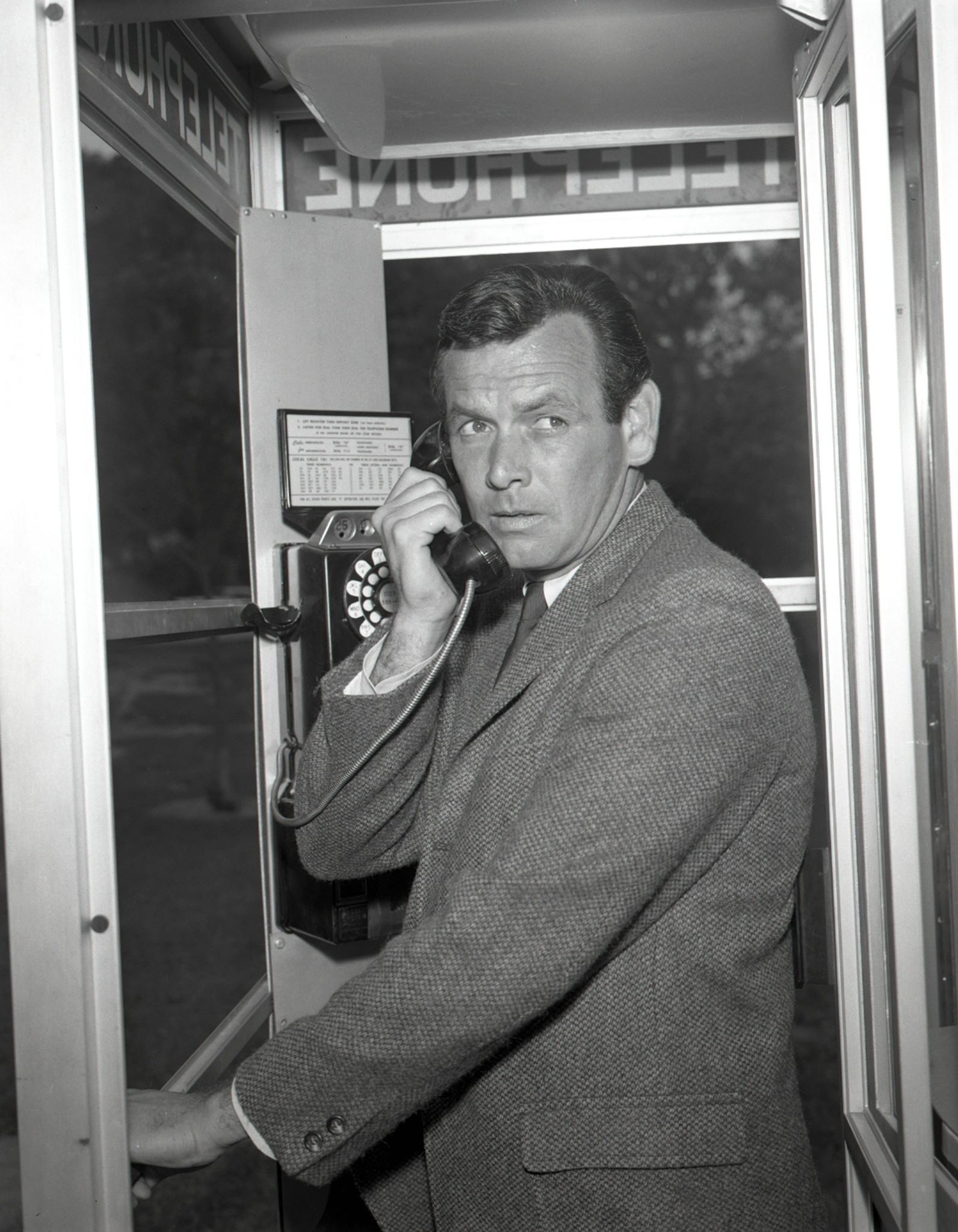 David Janssen in The Fugitive (1963)