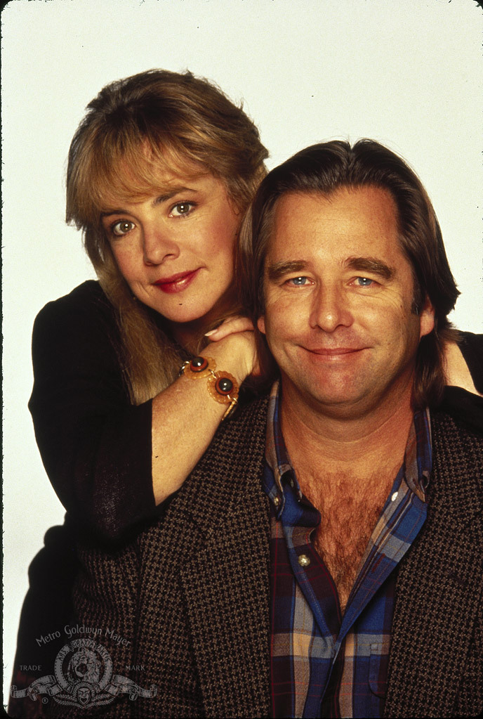 Stockard Channing and Beau Bridges in Married to It (1991)