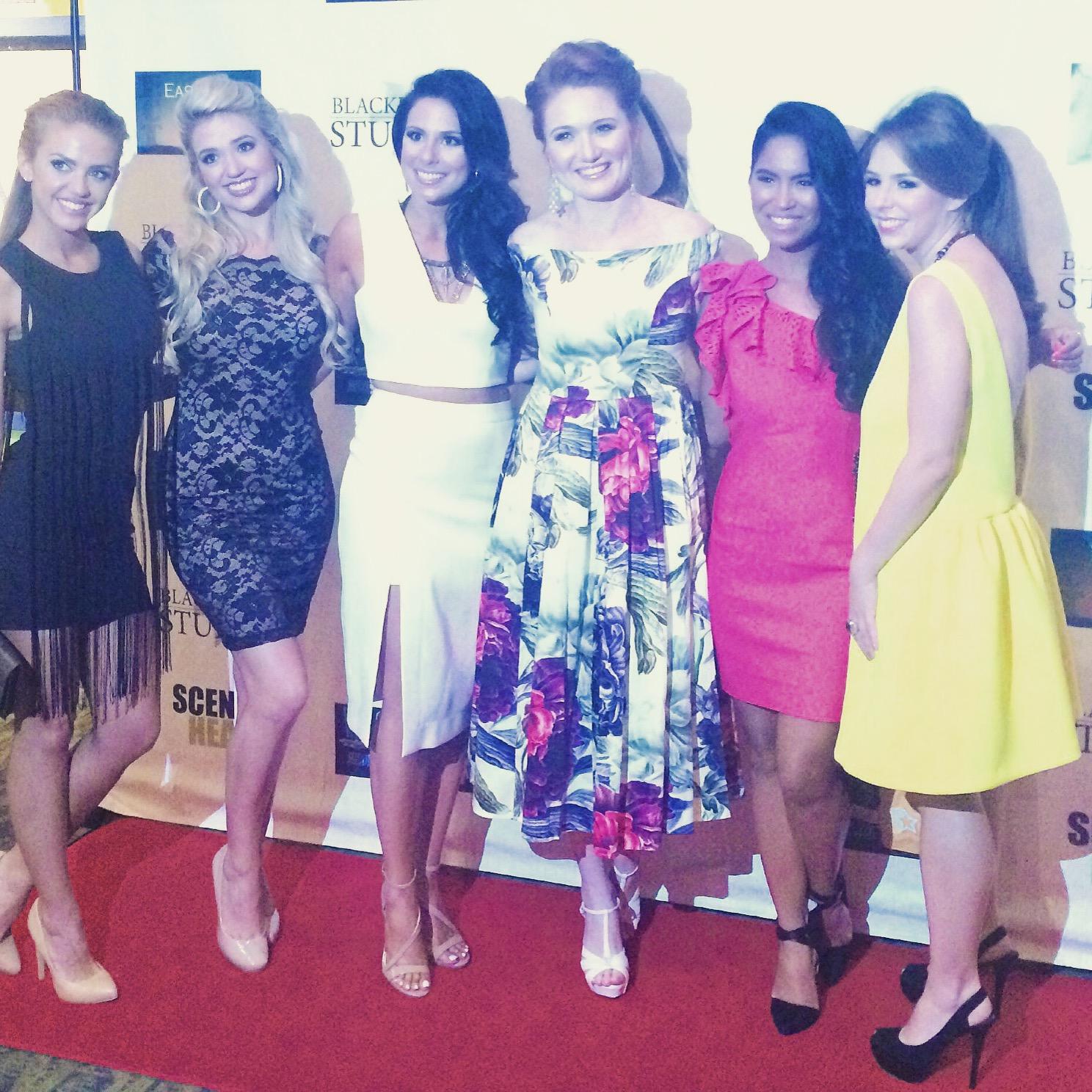 Mandi Christine Kerr at The Legend of Seven Toe Maggie premiere.