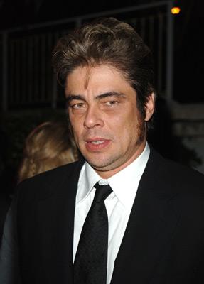 Benicio Del Toro at an event for Sin City (2005)