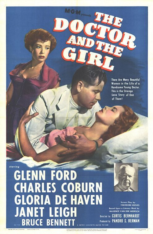 Glenn Ford, Janet Leigh, Charles Coburn, and Gloria DeHaven in The Doctor and the Girl (1949)