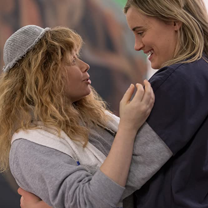 Natasha Lyonne and Taylor Schilling in Orange Is the New Black (2013)