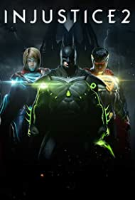 Kevin Conroy, George Newbern, and Laura Bailey in Injustice 2 (2017)