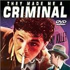 John Garfield, Huntz Hall, Billy Halop, Bobby Jordan, Bernard Punsly, and The Dead End Kids in They Made Me a Criminal (1939)