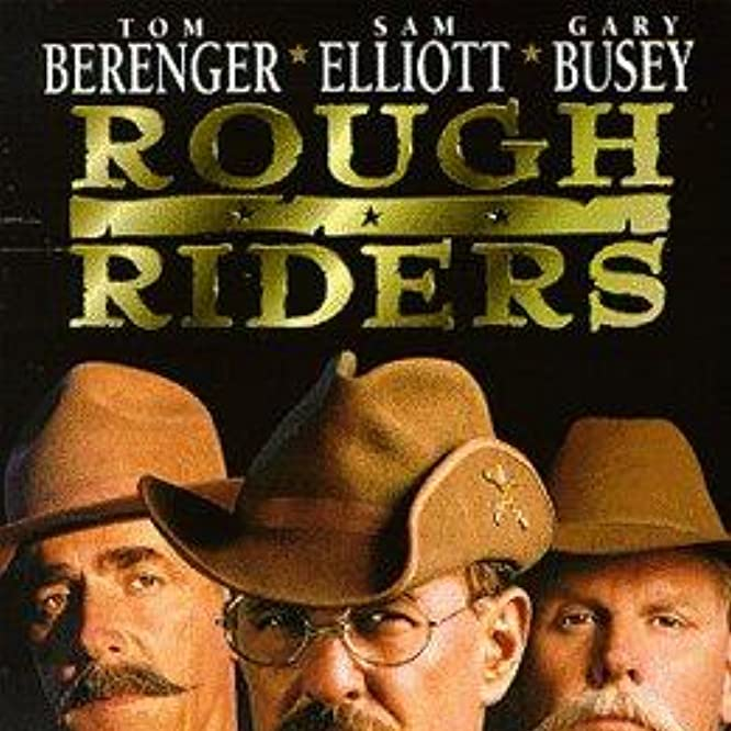 Tom Berenger, Sam Elliott, and Gary Busey in Rough Riders (1997)
