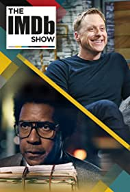 Denzel Washington and Alan Tudyk in The IMDb Show (2017)