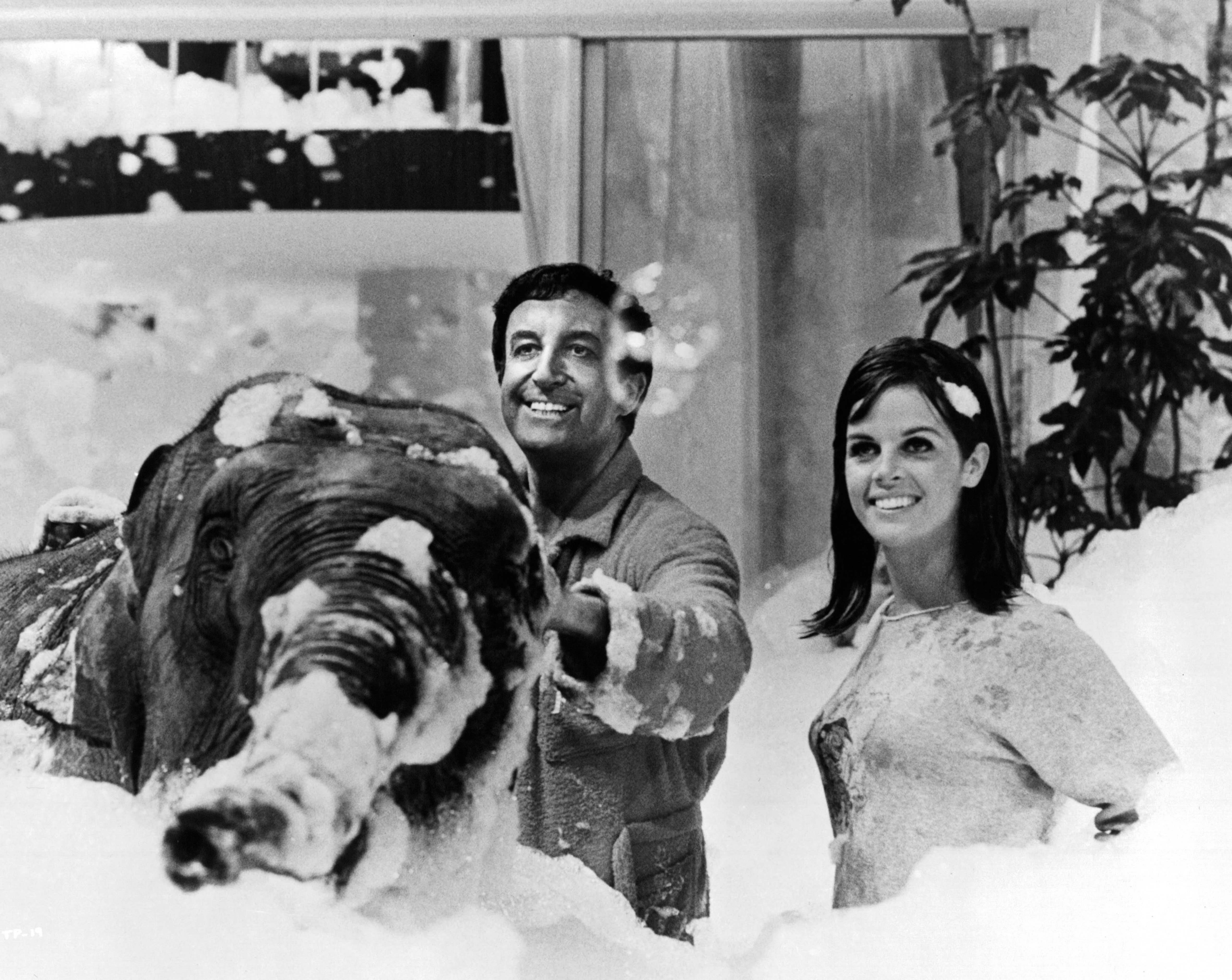 Peter Sellers and Claudine Longet in The Party (1968)