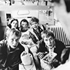 Di Botcher, Huw Ceredig, Llyr Ifans, Rhys Ifans, and Rachel Scorgie in Twin Town (1997)